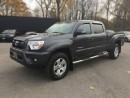Used 2014 Toyota Tacoma V6 TRD Sport * 4WD * REAR CAM * BLUETOOTH * LOW KM for sale in London, ON