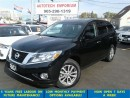Used 2013 Nissan Pathfinder 4x4 7 Passenger/Rear Air/Alloys &GPS for sale in Mississauga, ON