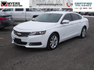 Used 2016 Chevrolet Impala LT - Touch Screen -  Bluetooth for sale in Ottawa, ON