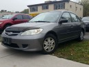 Used 2005 Honda Civic SE for sale in Dundas, ON