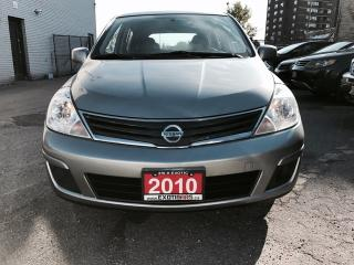 Used 2010 Nissan Versa HATCHBACK 1.8S • Auto for sale in Scarborough, ON