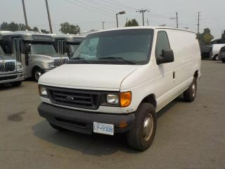 Used 2003 Ford Econoline E-350 Super Duty Cargo Van for sale in Burnaby, BC