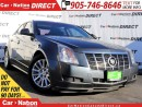 Used 2012 Cadillac CTS | LEATHER| PANO ROOF| POWER SEATS| for sale in Burlington, ON