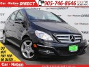 Used 2011 Mercedes-Benz B-Class B200 Turbo| LEATHER-TRIMMED SEATS| SUNROOF| for sale in Burlington, ON