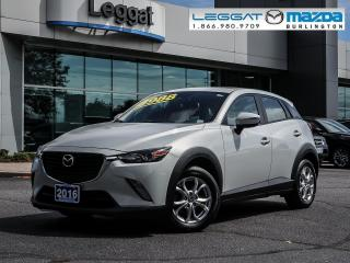 Used 2016 Mazda CX-3 GS - AWD, BLUETOOTH, MOONROOF, HEATED SEATS, REAR CAMERA for sale in Burlington, ON
