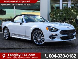 New 2017 Fiat 124 Spider Lusso WITH NAVIGATION, REAR BACK-UP CAMERA for sale in Surrey, BC