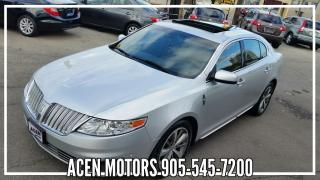Used 2010 Lincoln MKS AWD- MINT -EXC. COND for sale in Hamilton, ON