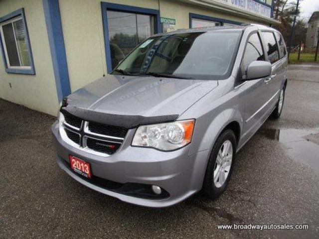 2013 Dodge Grand Caravan FAMILY MOVING CREW EDITION 7 PASSENGER 3.6L - V6.. CAPTAINS.. FULL STOW-N-GO.. CD/AUX INPUT.. POWER WINDOWS.. ECON-BOOST-PACKAGE..