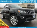 Used 2015 Jeep Grand Cherokee Limited| NAVI| LEATHER| SUNROOF| for sale in Burlington, ON
