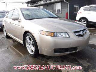 Used 2004 Acura TL  4D SEDAN W/NAV for sale in Calgary, AB