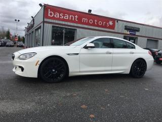 Used 2013 BMW 650i Gran Coupe M Sport, Night Vision, 360° Camera, Coupe! for sale in Surrey, BC