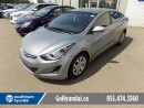 Used 2016 Hyundai Elantra BLUETOOTH, HEATED SEATS, POWER OPTIONS. for sale in Edmonton, AB