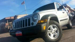 Used 2006 Jeep Liberty Sport / DIESEL !!! / AUTO / 4X4 / HITCH for sale in North York, ON