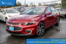 New 2017 Chevrolet Malibu 1LT Navigation, Sunroof, and Heated Seats for sale in Port Coquitlam, BC