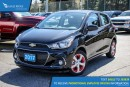 New 2017 Chevrolet Spark 1LT CVT Satellite Radio and Backup Camera for sale in Port Coquitlam, BC