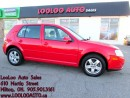 Used 2008 Volkswagen City Golf 2.0L Manual Certified 2 Years Warranty for sale in Milton, ON