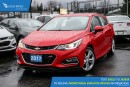 New 2017 Chevrolet Cruze Premier Auto Navigation, Sunroof, and Heated Seats for sale in Port Coquitlam, BC