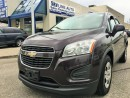 Used 2014 Chevrolet Trax 6 SPEED MANUAL/CERTIFIED/BLUETOOTH for sale in Concord, ON