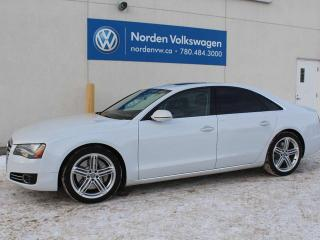 Used 2013 Audi A8 4.0L PREMIUM QUATTRO AWD for sale in Edmonton, AB