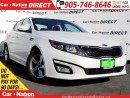 Used 2015 Kia Optima LX| POWER DRIVERS SEAT| HEATED SEATS| for sale in Burlington, ON