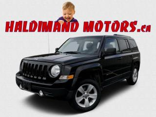 Used 2012 Jeep Patriot Limited 4WD for sale in Cayuga, ON
