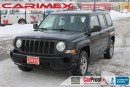 Used 2010 Jeep Patriot Sport/North | Leather | CERTIFIED + E-Tested for sale in Waterloo, ON