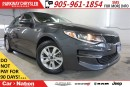 Used 2016 Kia Optima LX| SIRIUS XM| BLUETOOTH| PWR DRIVER LUMBAR for sale in Mississauga, ON
