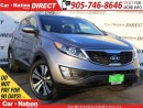 Used 2012 Kia Sportage EX Luxury w/Navigation| AWD| DUAL SUNROOF| LEATHER for sale in Burlington, ON