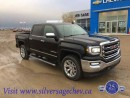 Used 2017 GMC Sierra 1500 5.3L V8 SLT 4X4 Crew for sale in Shaunavon, SK