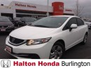 Used 2013 Honda Civic LX | 5SP | KEYLESS ENTRY | BLUETOOTH for sale in Burlington, ON