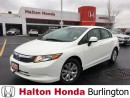 Used 2012 Honda Civic LX | 5SP | KEYLESS ENTRY | PRIVACY GLASS for sale in Burlington, ON
