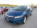 Used 2012 Honda Civic LX / ACCIDENT FREE for sale in Newmarket, ON