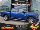Used 2016 RAM 1500 Sport CREW 4X4 *BTOOTH *LTHR *MEM SEAT *NAV *CAM for sale in Winnipeg, MB
