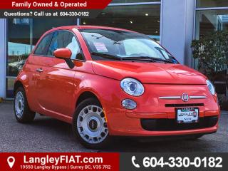 New 2017 Fiat 500 Pop BLUETOOTH, KEYLESS ENTRY for sale in Surrey, BC