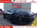 Used 2015 Chevrolet Camaro ZL1| NAVI | ONE OWNER | 580HP SUPERCHARGED | for sale in Georgetown, ON