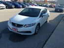 Used 2014 Honda Civic LX for sale in Goderich, ON