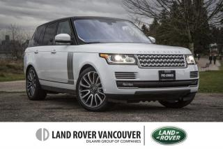 Used 2016 Land Rover Range Rover V8 Autobiography Supercharged SWB (2016.5) for sale in Vancouver, BC
