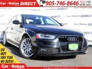 Used 2015 Audi A4 2.0T Komfort| AWD| LEATHER| SUNROOF| for sale in Burlington, ON