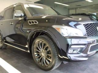 Used 2017 Infiniti QX80 EXECUTIVE DEMO LIMITED for sale in Edmonton, AB