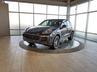 Used 2017 Porsche Cayenne One Owner Local Cayenne S Hybrid Platinum for sale in Edmonton, AB
