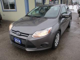 Used 2014 Ford Focus GAS SAVING SE MODEL 5 PASSENGER 2.0L - DOHC.. HEATED SEATS.. SYNC TECHNOLOGY.. BLUETOOTH SYSTEM.. for sale in Bradford, ON