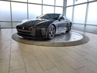 Used 2017 Jaguar F-Type SVR - Certified Pre-Owned Warranty until September 27, 2023 or 160,000 Kilometres, with Certified Rates from 1.9% for sale in Edmonton, AB