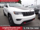 New 2017 Jeep Grand Cherokee Trailhawk for sale in Surrey, BC
