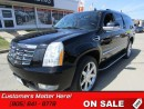 Used 2008 Cadillac Escalade ESV 6.2L, AWD, DVD, BOSE, NAV, BACKUP CAMERA! for sale in St Catharines, ON