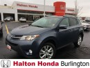 Used 2014 Toyota RAV4 Limited | 6SP | ALLOYS | LEATHER | SUNROOF for sale in Burlington, ON