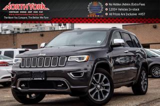 New 2017 Jeep Grand Cherokee Overland 4x4|Trailer Tow Pkg.|Pano_Sunroof|Nav|Heat.Seats|20