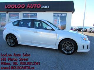 Used 2013 Subaru WRX WRX Turbo 5 Speed AWD Bluetooth Certified Warranty for sale in Milton, ON