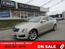 Used 2014 Cadillac ATS 2.0 Turbo Luxury   AWD!  LEATHER!  CAMERA!  REMOTE! for sale in St Catharines, ON