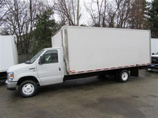 Used 2014 Ford E450 18 foot gas cube van X 2 available for sale in Richmond Hill, ON