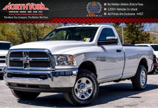 New 2017 Dodge Ram 2500 New Car SXT 4x4|Diesel|Snow Chief,Trailer Brake,Power&Remote Entry Pkgs|Backup Cam for sale in Thornhill, ON